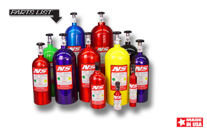Nos tank sizes show by manufacturer search all nos nitrous supply