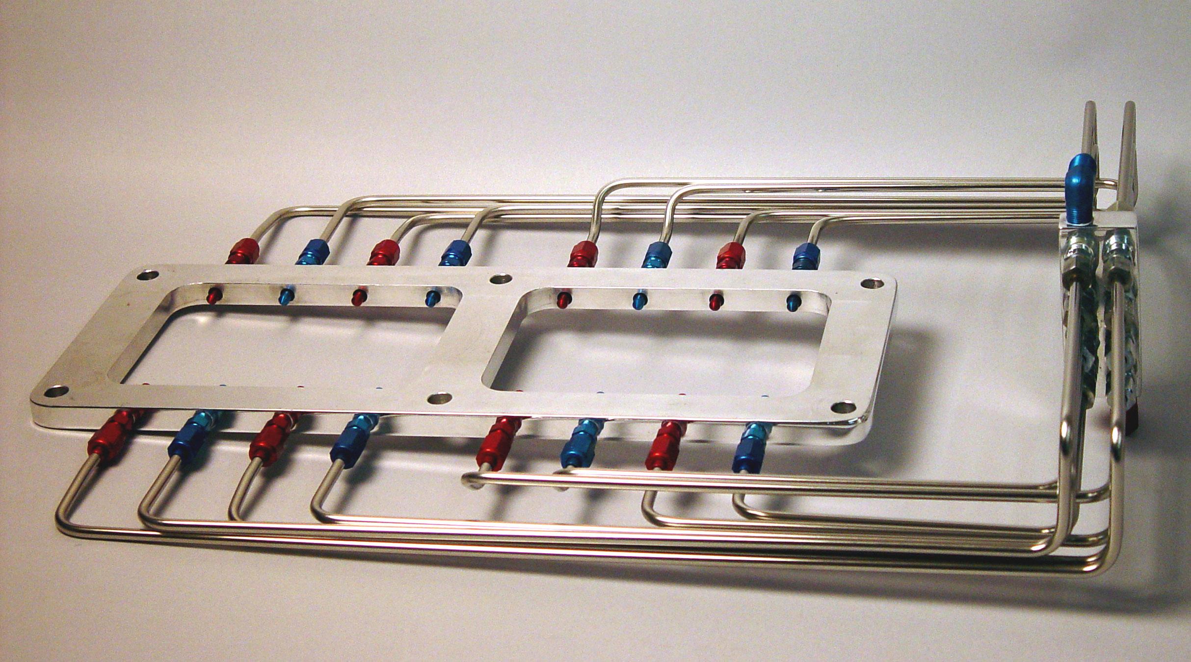 Custom Nitrous Plumbing Nitrous Supply